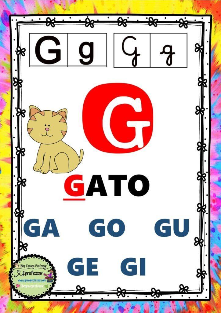 Alfabeto Com Silabas Com Os 4 Tipos De Letras Teia Pedagogica