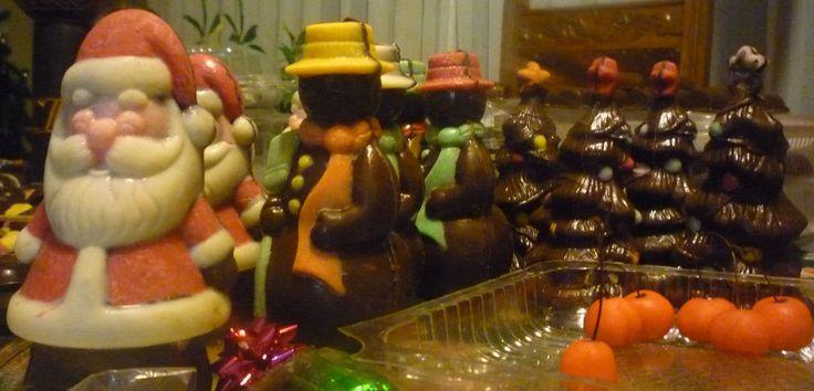 chocolate y la navidad!!