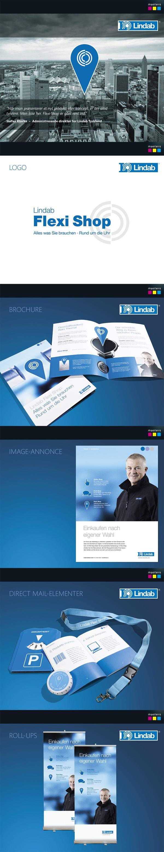 Lindab Flexi Shop kampagne by Masters Reklame, via Behance #mastersreklame