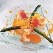 Langoustines rôties et beurre d'agrumes - une recette Week-end - Cuisine