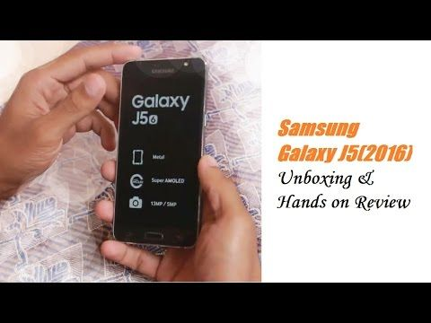 Samsung Galaxy J5(2016) Unboxing and Review - First Impression