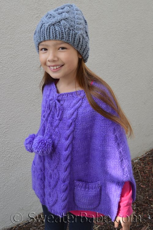 Knitting Pattern For Dolls Poncho : 17 Best images about knitting on Pinterest Cable, Purl ...