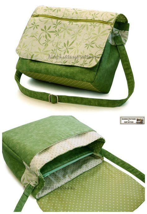 The Swift Summer downloadable pdf bag sewing pattern.