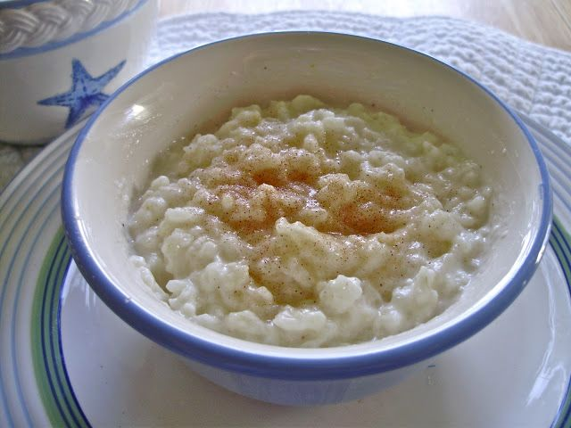 The PURSE-onality Challenge: My Favorite Christmas 'n' Comfort Food: Finnish Rice Porridge