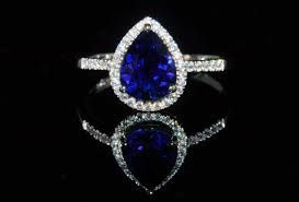 Image result for sapphire pear shaped engagement rings