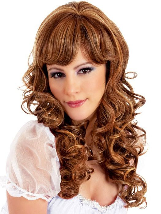 Escape Medium Curls Wig In Various Colors