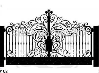 door garden iron gates, iron garden gates for sale,ornamental iron gates designs iron door