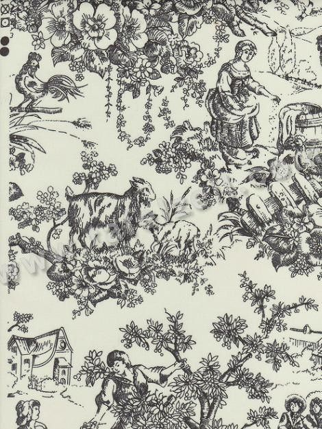 17 best images about toile de jouy on pinterest antiques french and toile. Black Bedroom Furniture Sets. Home Design Ideas