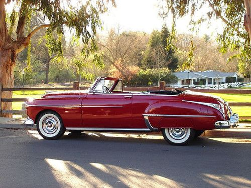50 Olds Futuramic 88 convertable by lslphoto