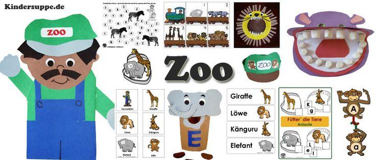 Projekt Zoo Basteln und Spiel-Ideen fur Kindergarten und Kita