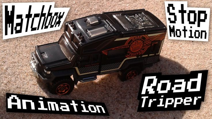 """This is a stop motion animation of Matchbox Road Tripper die-cast toy car. It mostly takes place on a beach at the Baltic seaside. Hope you like it! :) The song used in this video is """"Automatic Town"""" by MotionRide. You can get it here: https://goo.gl/MelGql :) Music and photos by MotionRide"""
