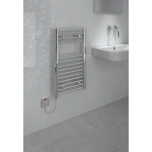 Kudox Flat Electric Towel Radiator: 35 Best Bathroom Heating Images On Pinterest