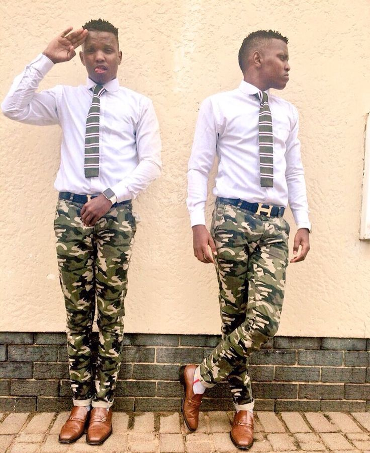 How To Stay Stylish With Camo #Dapper #FormalWear #Camouflage #Style