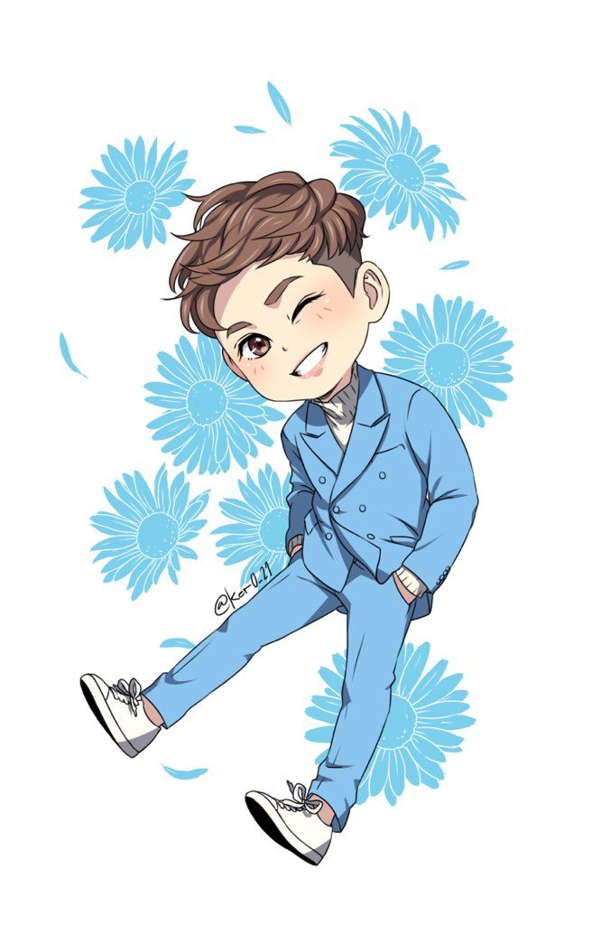 #iKON #Yunhyeong #fanart by ker0_21 #Nivea #CF Wish You Shine