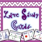 A set of geometry lines study cards and a fun activity for your students to use to practice their line study!