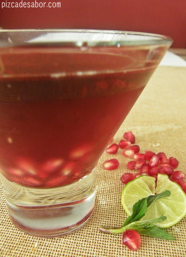 Martini de granada – Pizca de Sabor