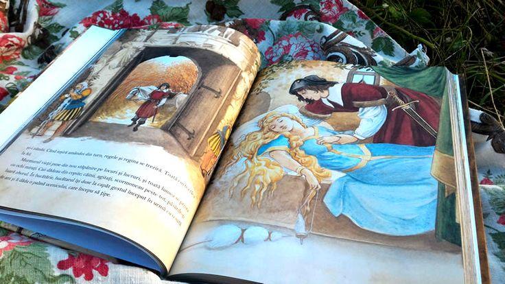 Cele mai frumoase povești de Frații Grimm - Frumoasa din pădurea adormită Corint Junior