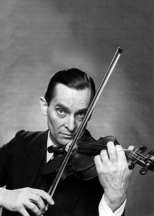 Sherlock & His Violin! | Jermery Brett as Sherlock Holmes | @Sherlockesque