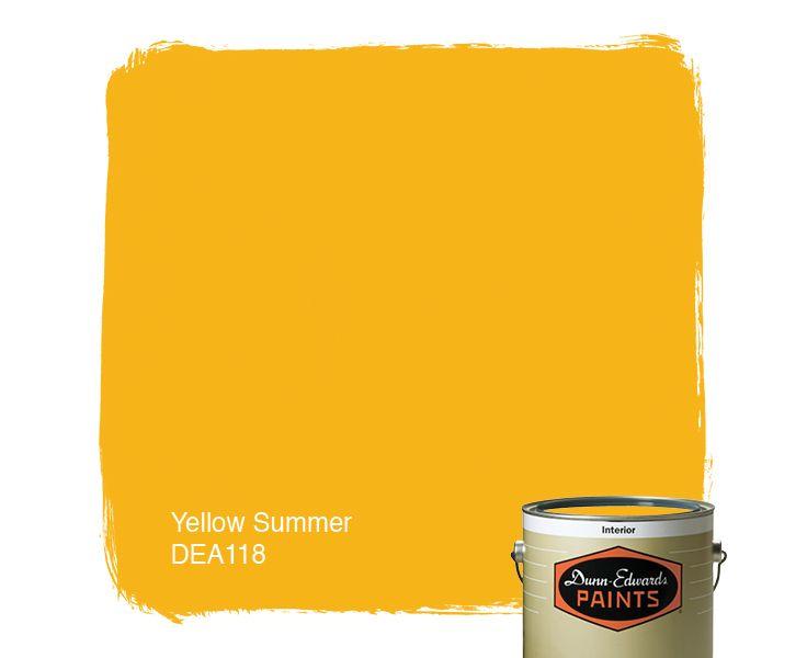 Paint Colours Yellow Cornsilk