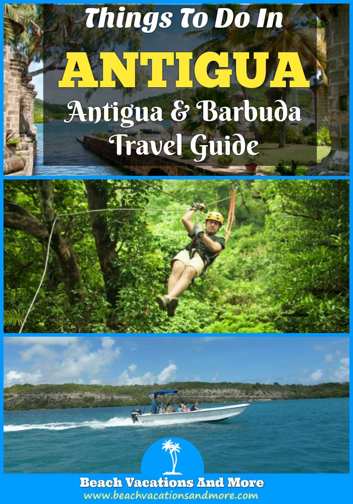Top fun things to do in Antigua and Barbuda on vacation - Scuba Diving, snorkeling, sightseeing excursions, cruises, zip lines, horseback riding and more activities