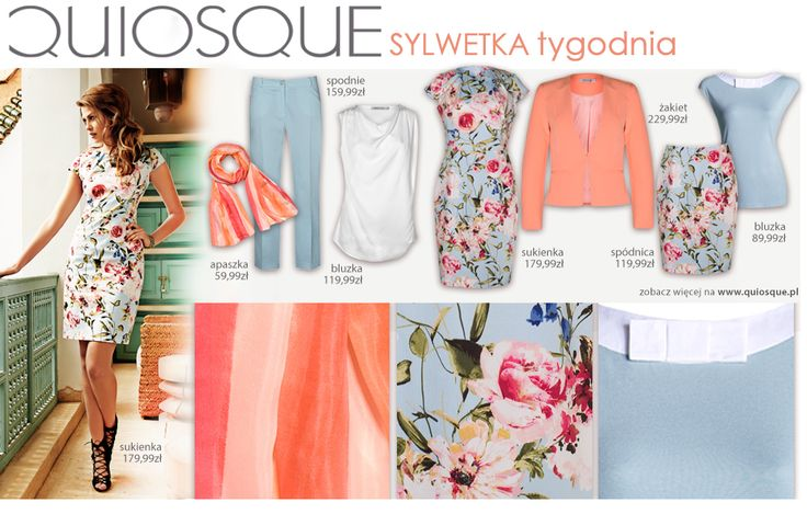 #quiosquepl #sylwetkatygodnia #fashion #inspirations #QSQ #outfit #look #spring #wear #new #collection #ss15 #MustHave #trousers #skirt #jacket #dress