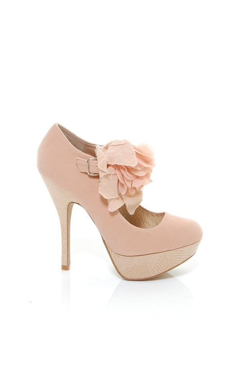 !: Pink Flowers, Sexy, Sweet, Style, Pale Pink, Lights Pink Heels, High Heels, Pink Shoes, Ruffles