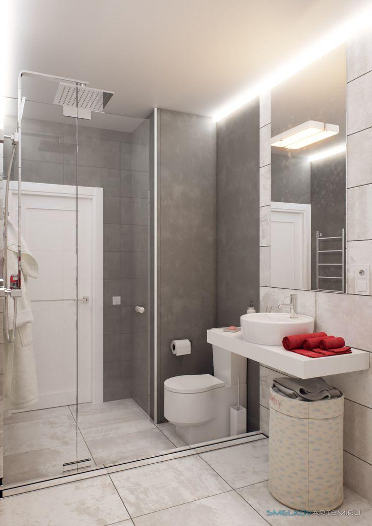 3D Визуализация - Ванная комната