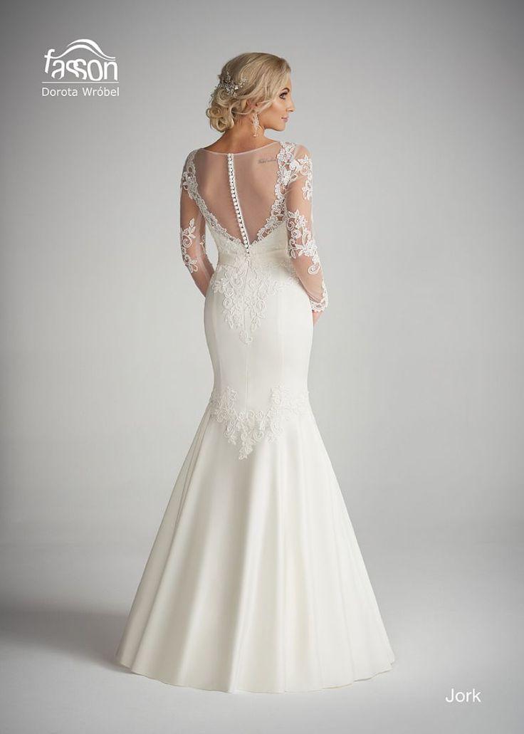 Jork tył suknia ślubna