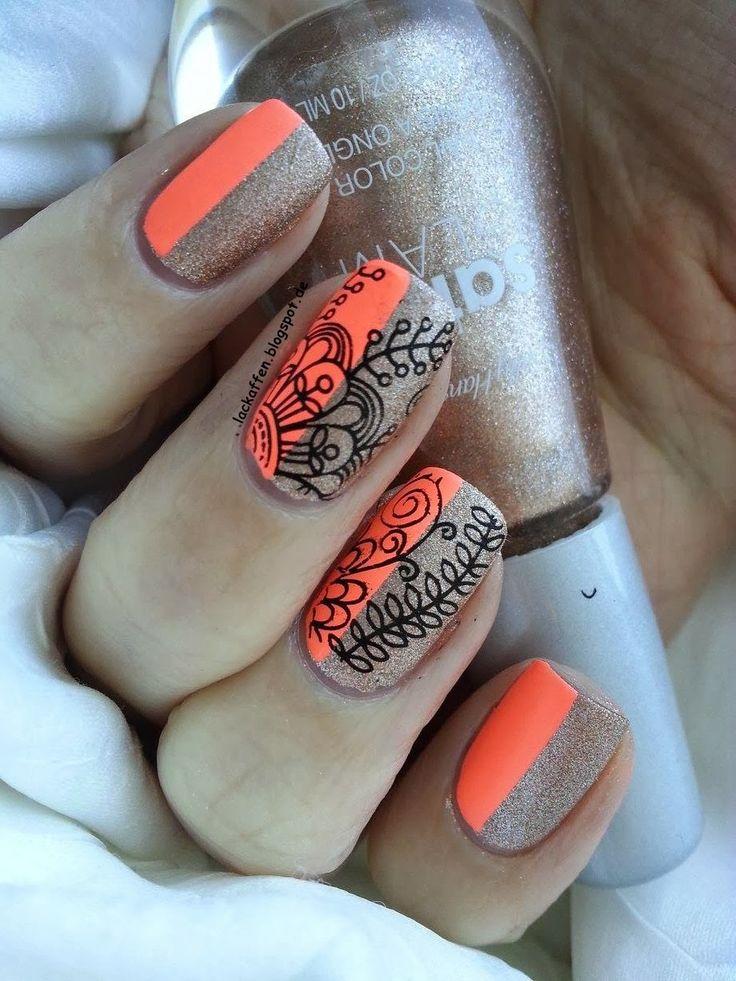 Lackaffen #nail #nails #nailart