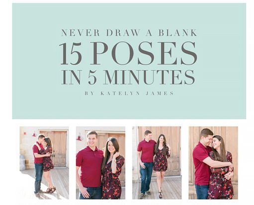 Posing guide for Photographers.  Learn how to guide your clients during photo…