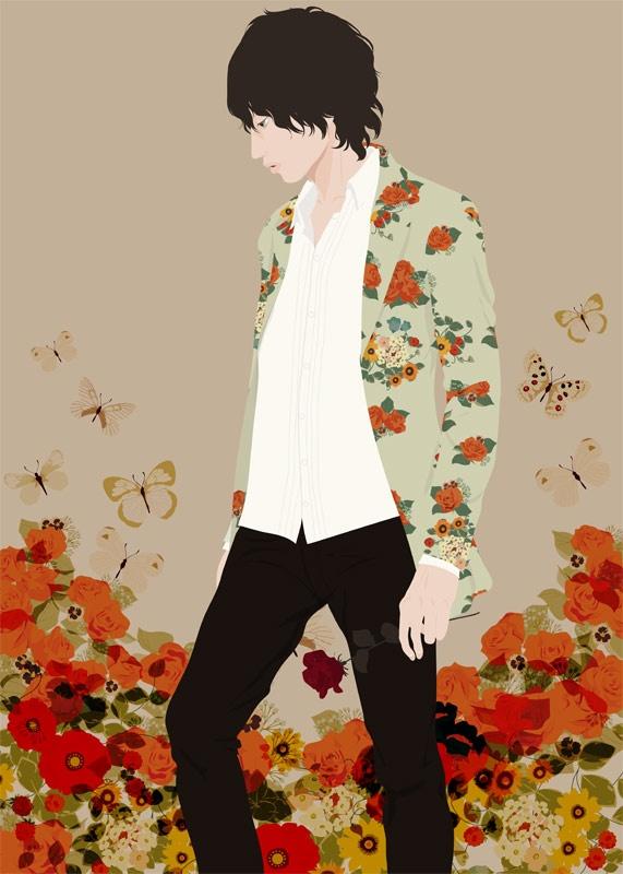 Flower Man 3 by Katogi Mari