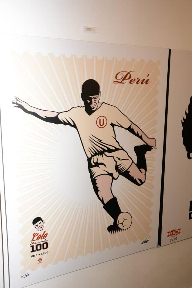 Ilustración del gran Teodoro 'Lolo' Fernández, inmortalizado también en la carátula de un libro / #sports #soccer #fútbol #colección #soccerfan