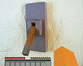 Minecraft Lever Style Light Switch Plate Cover