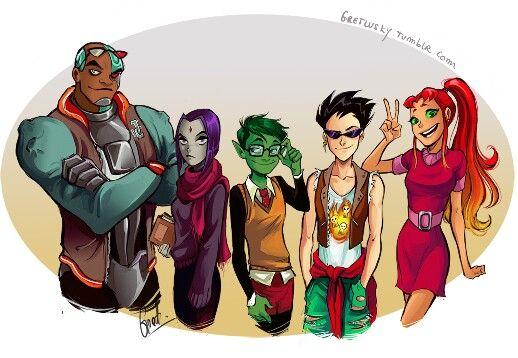 Teen Titans Fan Art Tumblr  Teentitans  Pinterest  Teen Titans, Fan -1879