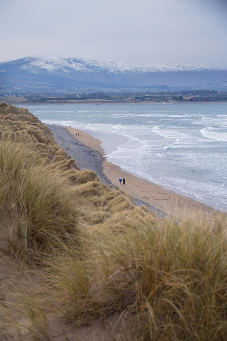 A bracing winter walk on the coast of blustery County Sligo, with the mountainous Strandhill landscape in the background… What better way to wave goodbye to 2016?