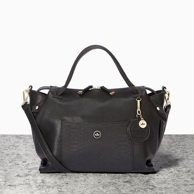 Emma Grab Black Mix - Handbags - Shop