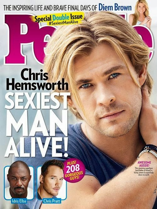Joury Blog: 5 facts about Sexiest Man Alive Chris Hemsworth