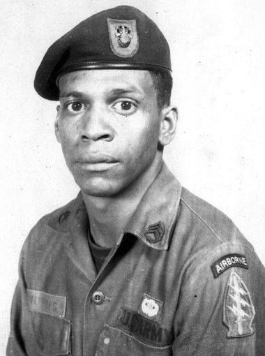 "Former Green Beret Melvin Morris of Port St. John, FL will receive the Medal of Honor -- four decades late -- for actions in Vietnam in 1969. Morris found his niche in the military. By 1961, he was one of the first soldiers donning the ""green beret"" of the U.S. Army Special Forces. Read his story herehttp://www.wtsp.com/story/news/local/2014/03/18/florida-vietnam-veteran-receives-medal-of-honor/6563865/"