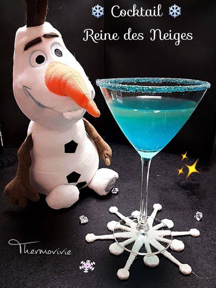 Cocktail de la reine des neiges
