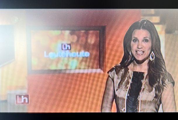 "Celebrity- & VIP Ausstattung Karen Webb, TV-Moderation ZDF - ""Leute Heute"" in Tatjana Prijmak"