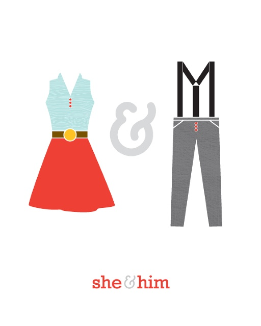 she & him by melissa