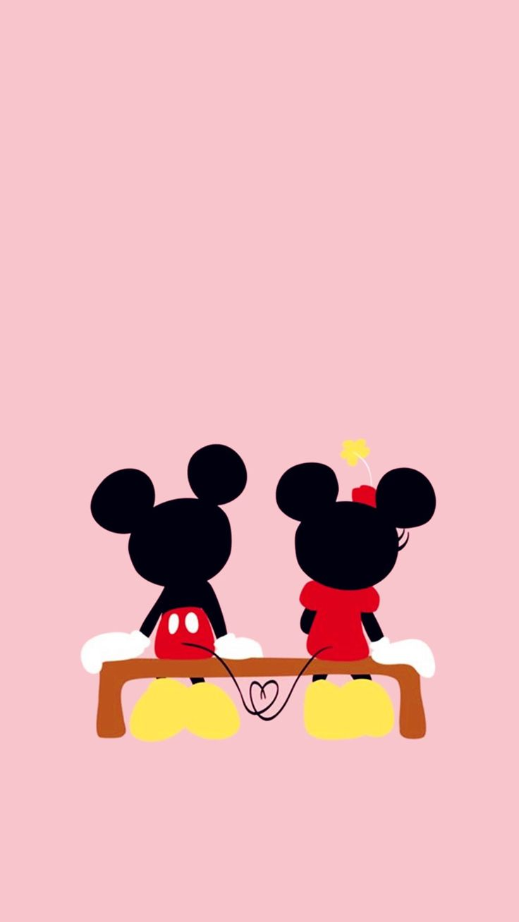 25 best ideas about mickey mouse wallpaper en pinterest - Mickey mouse minnie cienta ...
