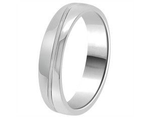 Perfect Ring Jewellers – Gents Wedding Band GWR1018