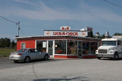 Lick-A-Chick on Cape Breton Island