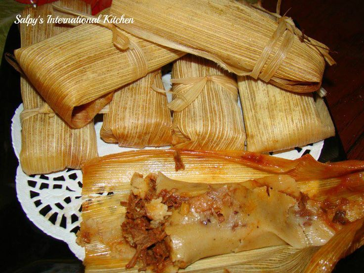 Pork Tamales Just The Way I Like Them Ethnic Pinterest Tamale Recipe Cheese And I Love