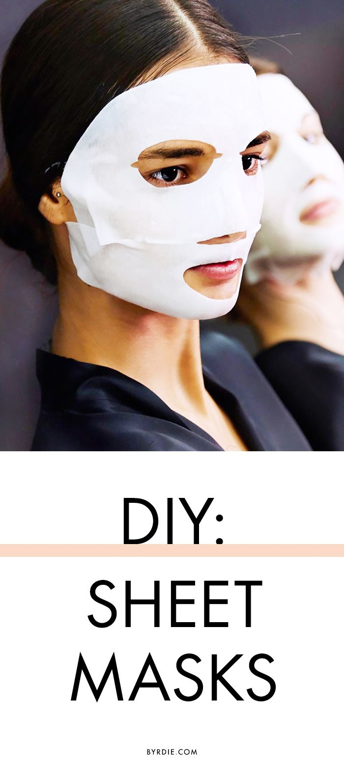 A DIY sheet mask you can do in seconds