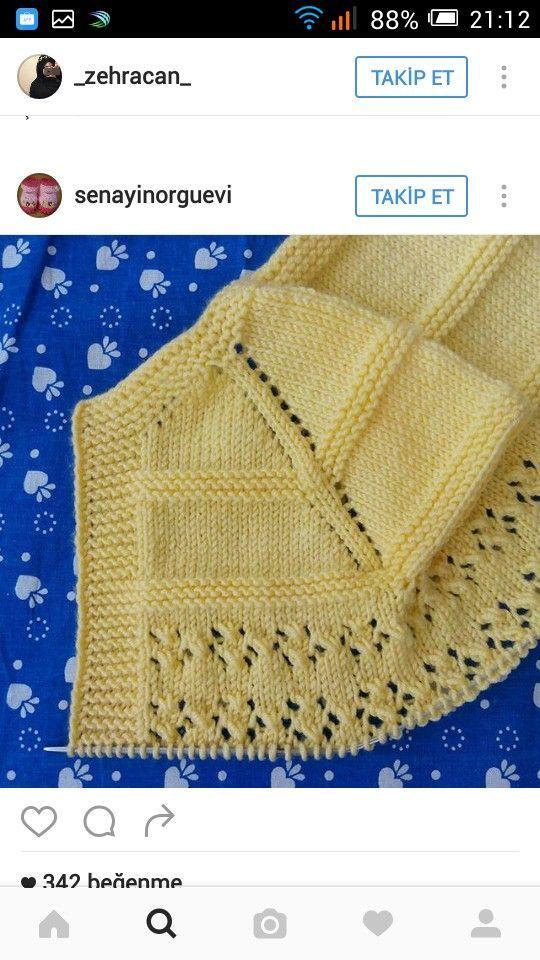 5986dd78caf Pin από το χρήστη Μαρια Φρεμε στον πίνακα πλεκτα χειροποιητα | Baby  knitting, Baby knitting patterns και Baby cardigan