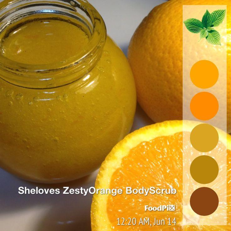 Zesty Orange Body Scrub by Sheloves