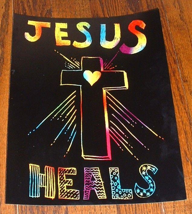 Jesus Heals Craft Activities   Children's Church Projects