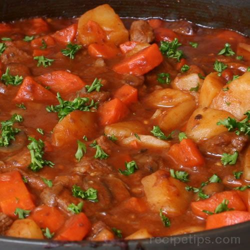 Recipe For Ultimate Beef Stew